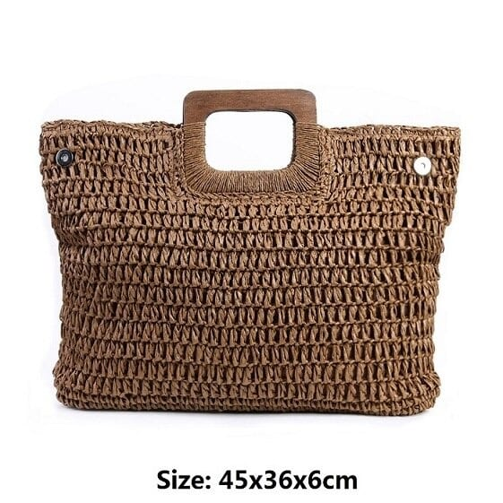 Wicker handbag hoi an