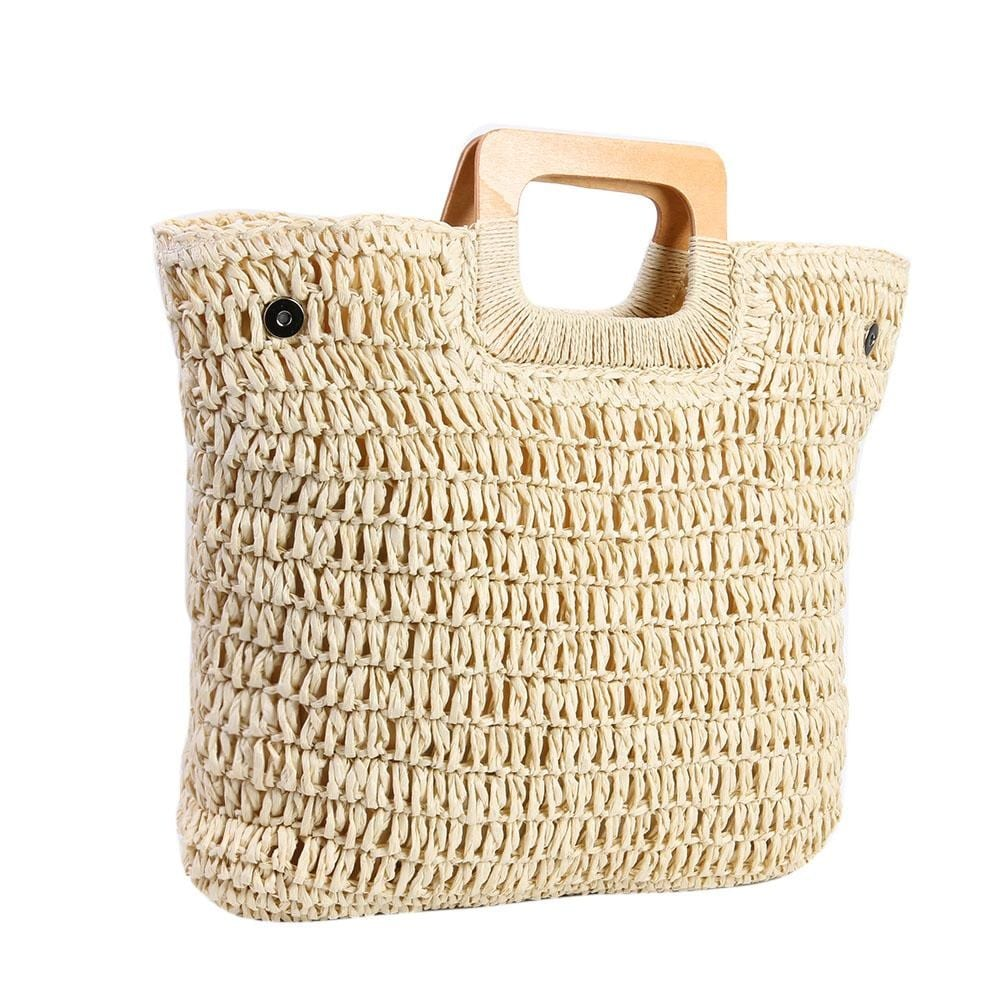 Which knitted straw handbag for summer