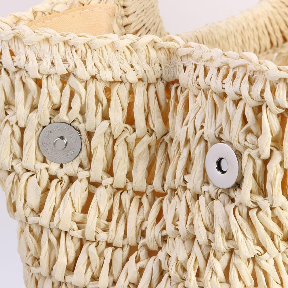 Why hard oversized straw beach bag suggest