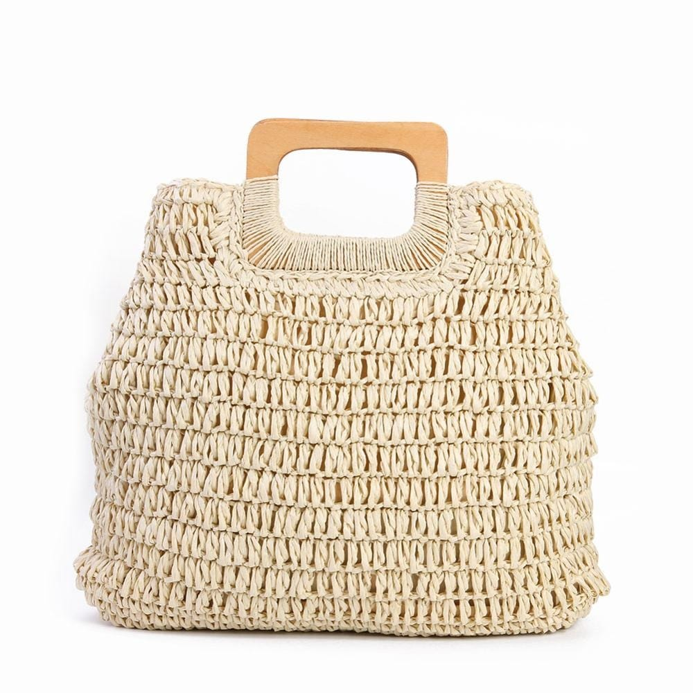 Where rattan and straw belt bag recomment