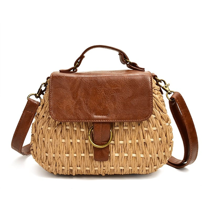 What straw tote beach bag vietnam