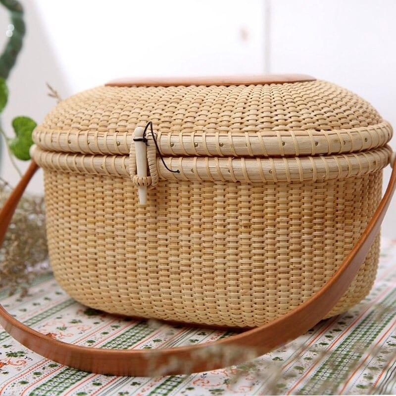 Cute woven leather bags better