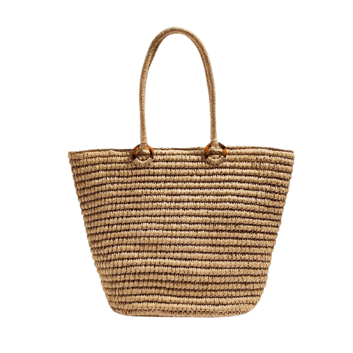 How long travel large straw bag good