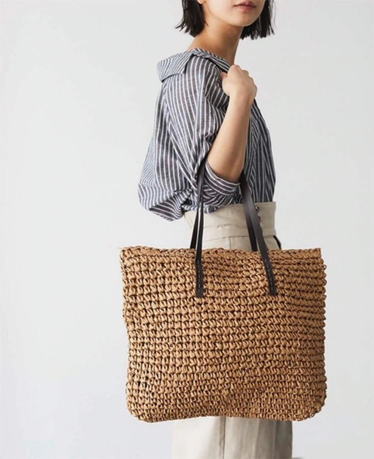 Where designer wicker clutch 2021