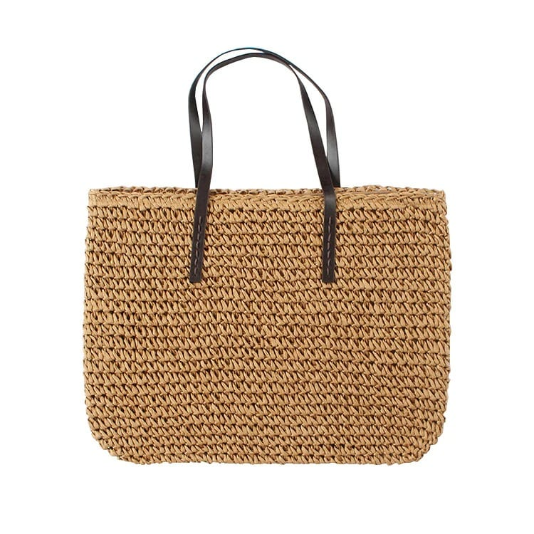 Bamboo wicker bag