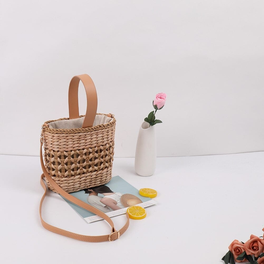 Which woven leather tote large recomment