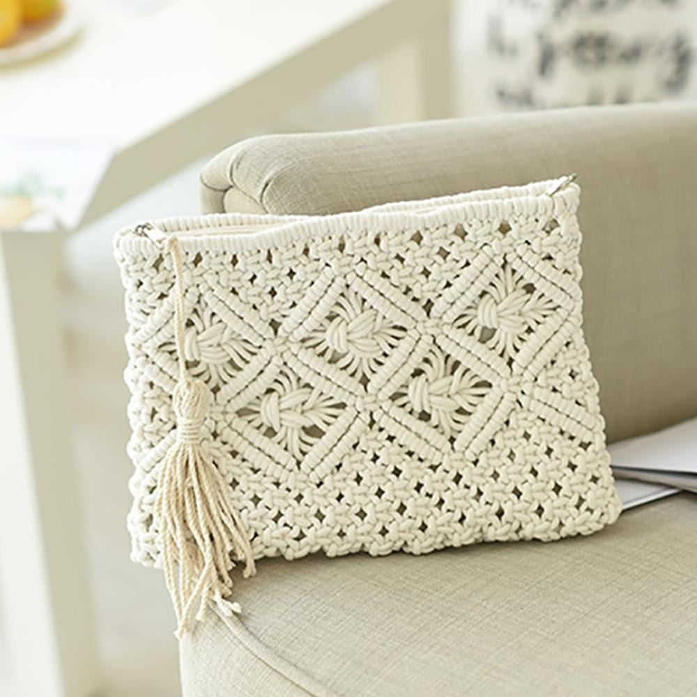 Where sustainable wicker clutch 2021
