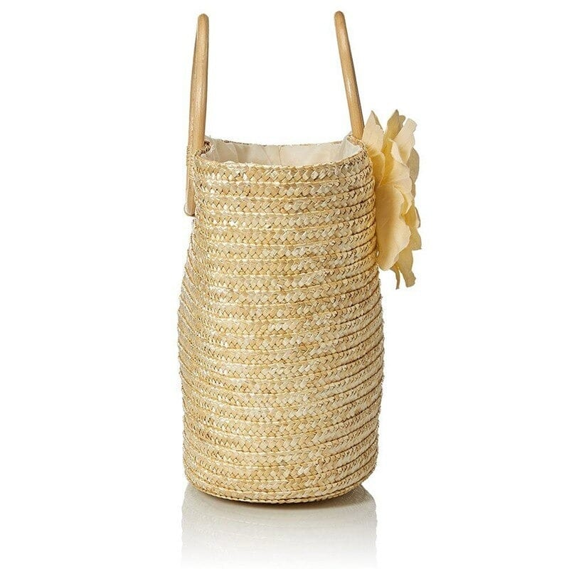 Which large straw beach bags fashion
