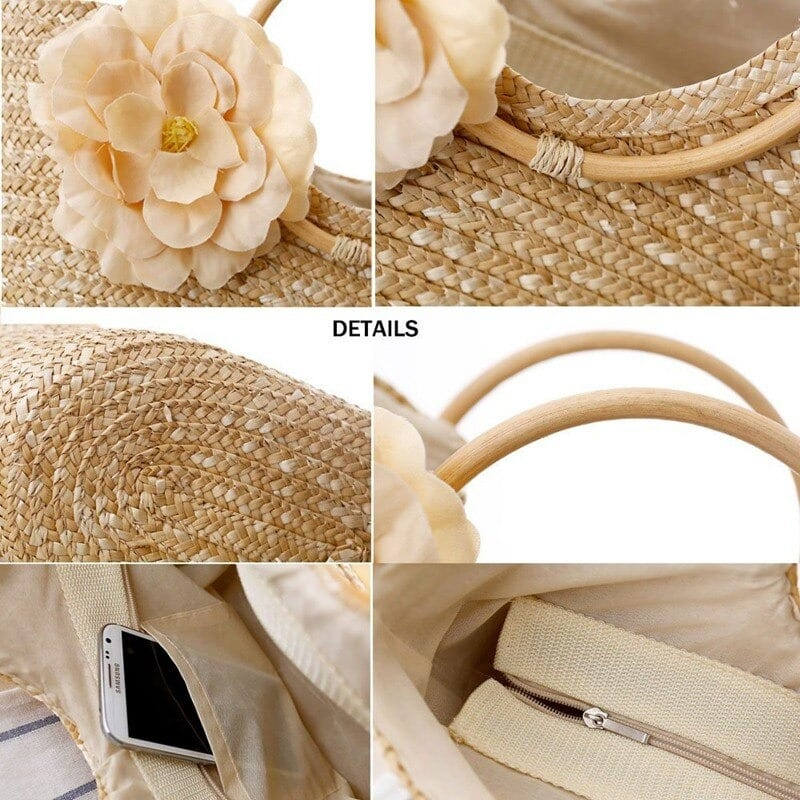 Where straw beach tote trend good