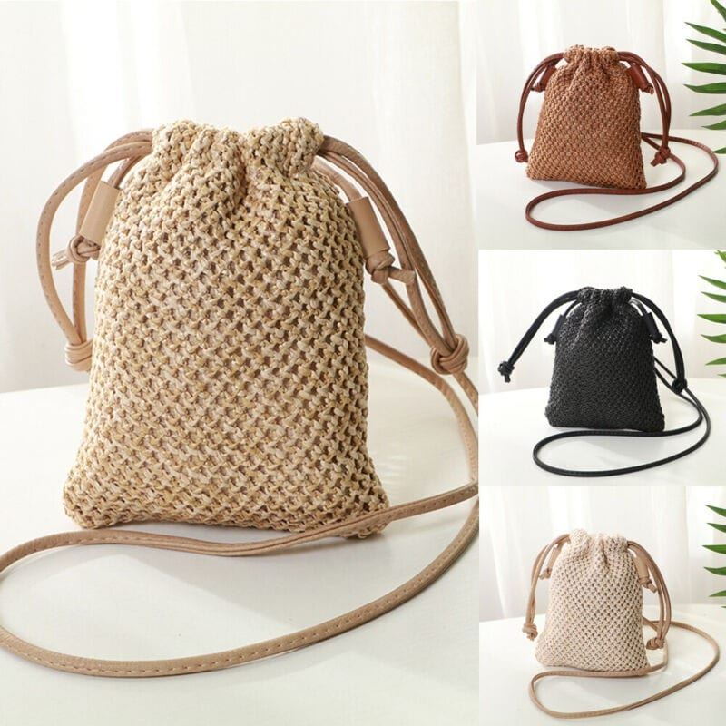 Oversized straw beach bags and totes