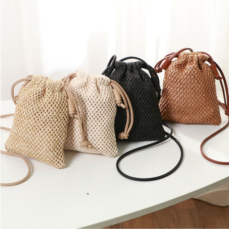 Which market straw handbag top