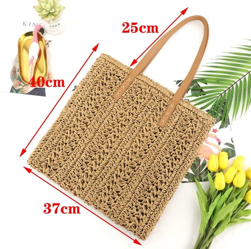 How long market summer straw purse best