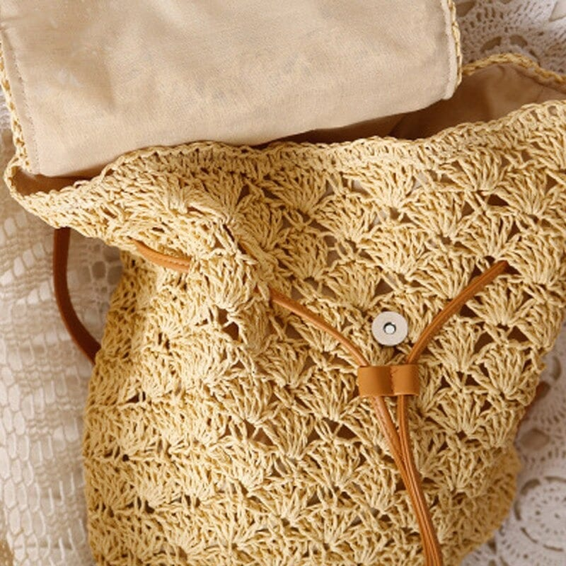 Basket wicker backpack recomment