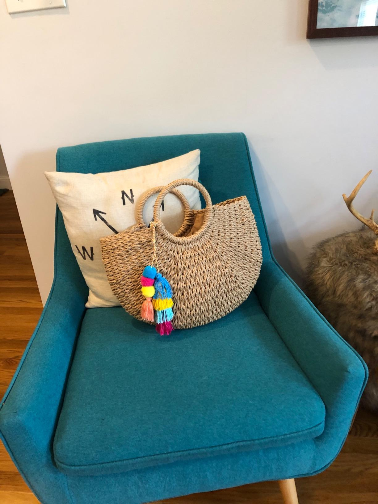 What casual wicker purse value