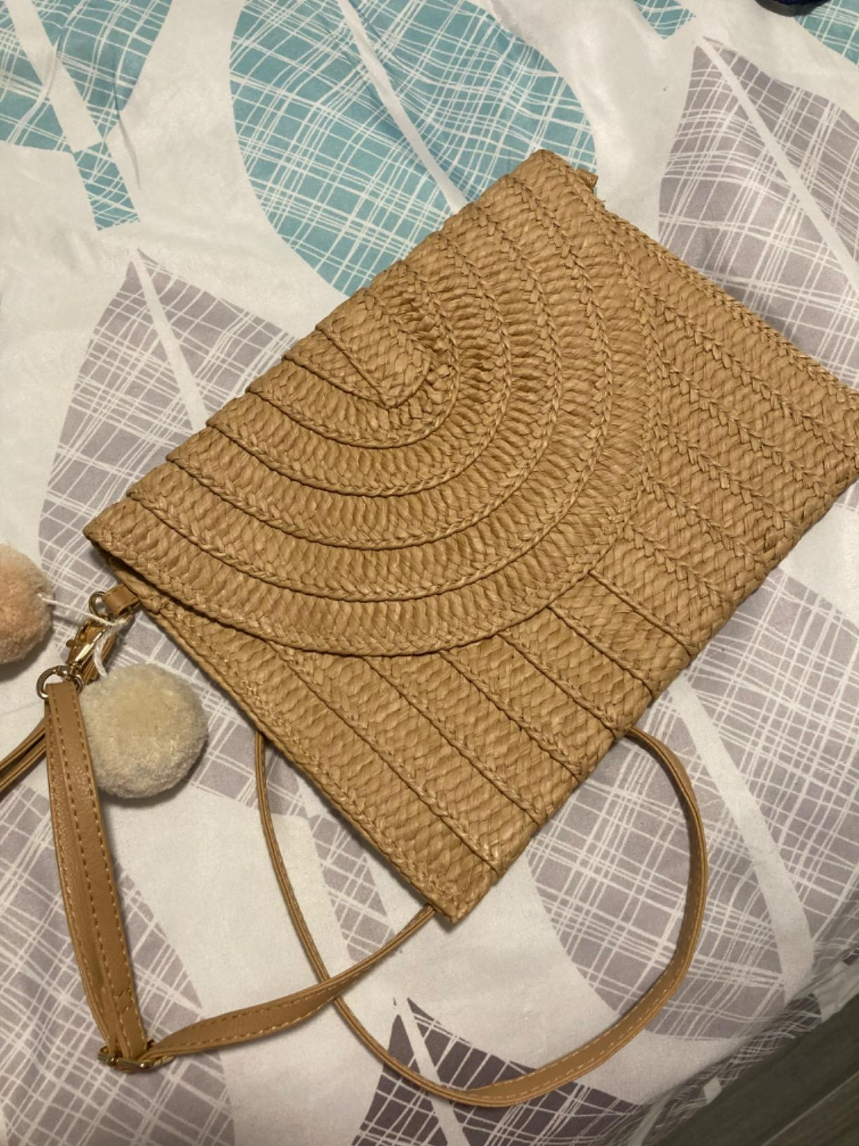 Straw handbag trend suggest