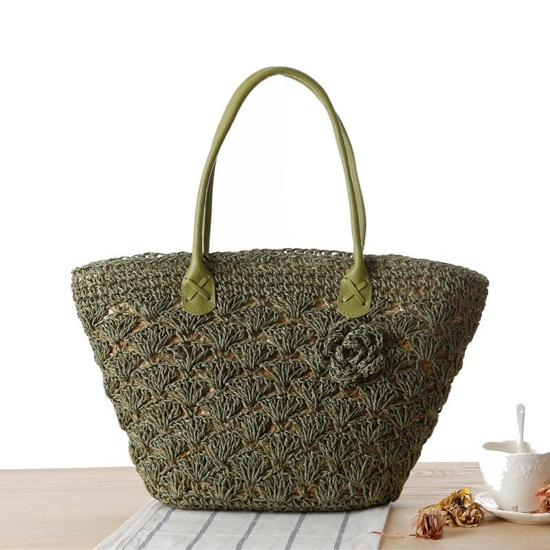 Bali straw basket bags good