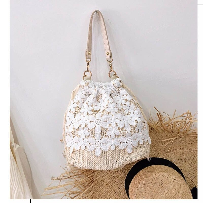 Straw bags for summers online shop value