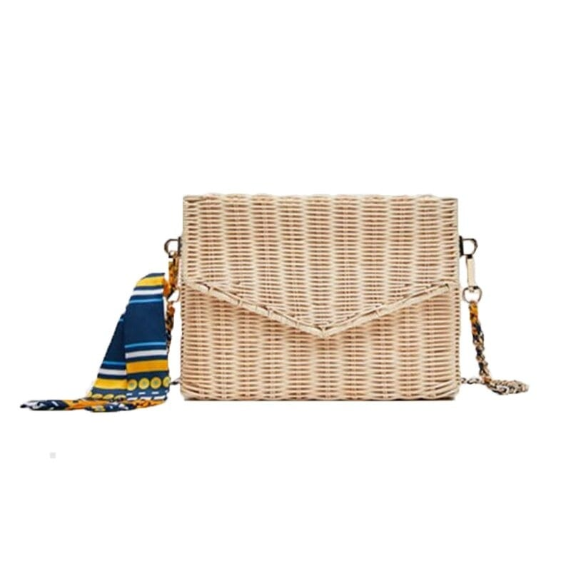 Summer straw purse online