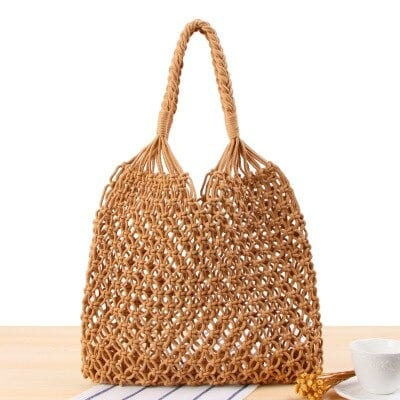 Casual large straw tote 2021