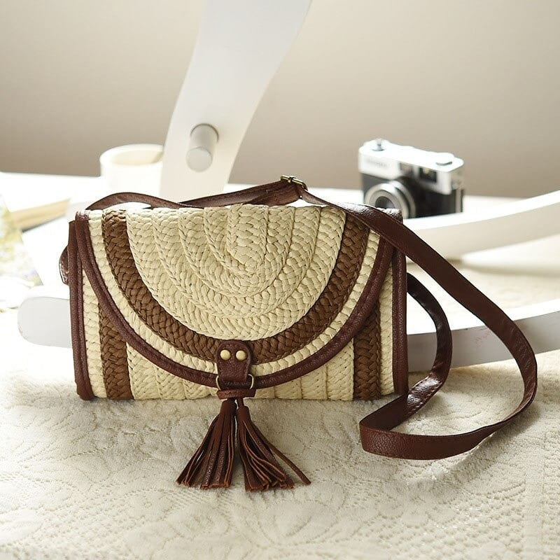 When cute large straw bags