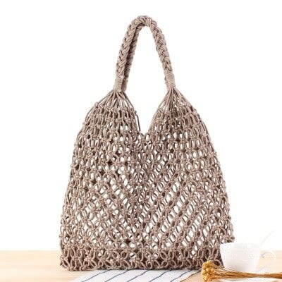 Cheap straw beach tote