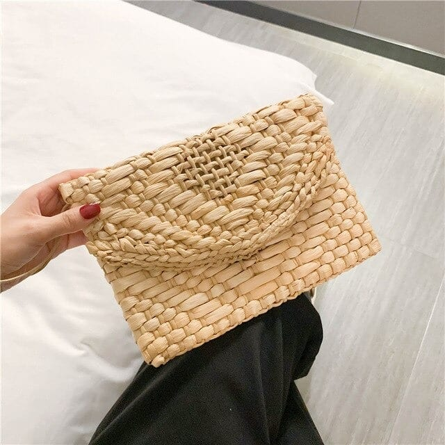 How much half moon woven purse