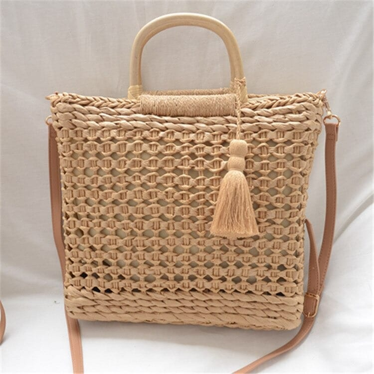 Travel straw bags for summer