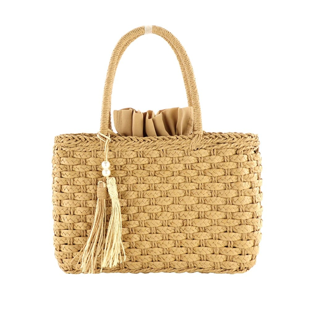 What sale large straw beach bag