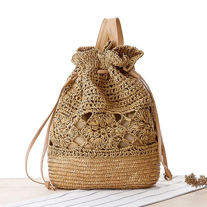 Why small straw bag with flowers quality