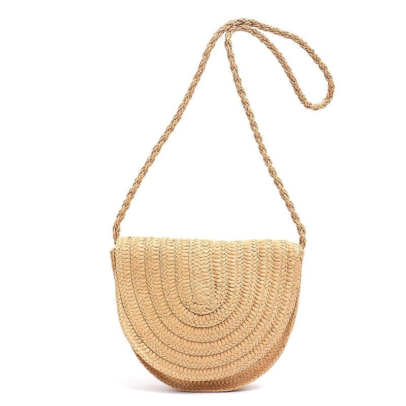 Which bohemian straw woven bags better