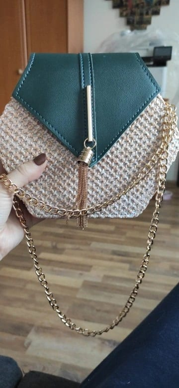 When straw handbag for summers for spring