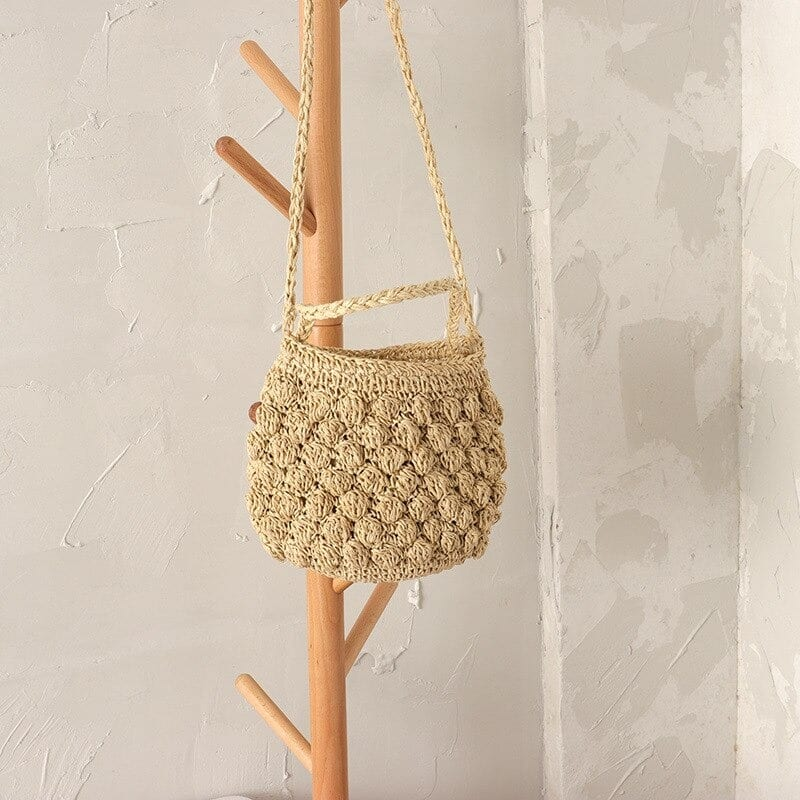 How wicker handbag bali