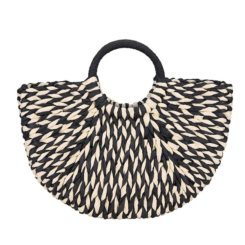 Straw tote bag online value