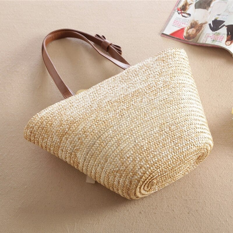Which lined straw purse quality