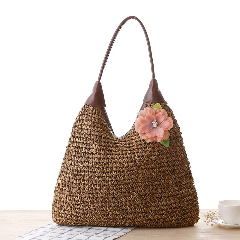 How many circle straw totes for summer