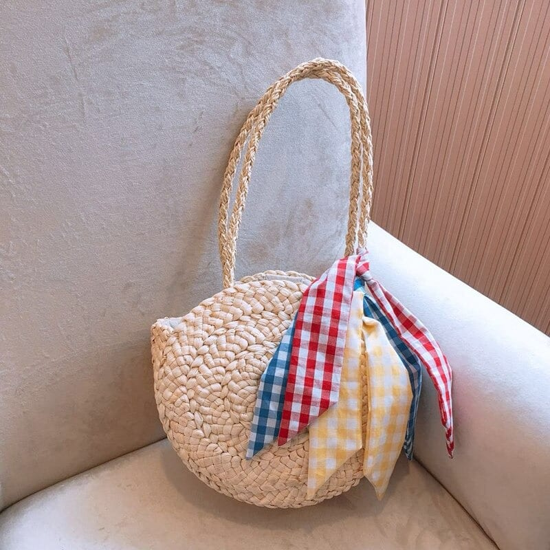 What sale rattan purse