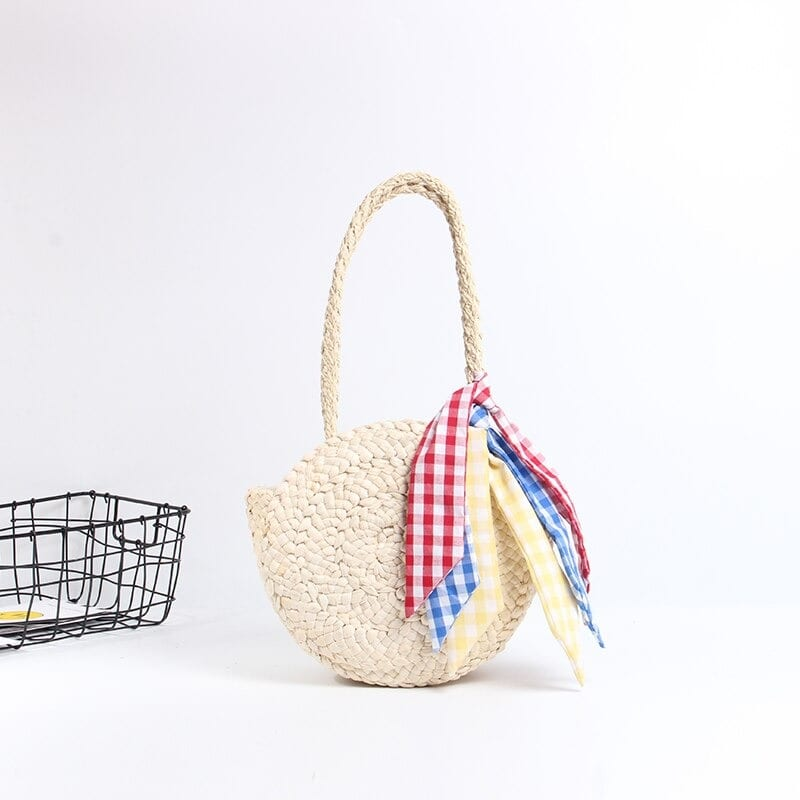 Why small straw basket bag value