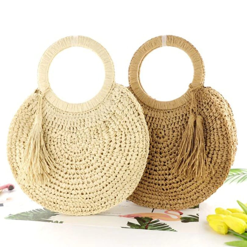 How wicker purses collection