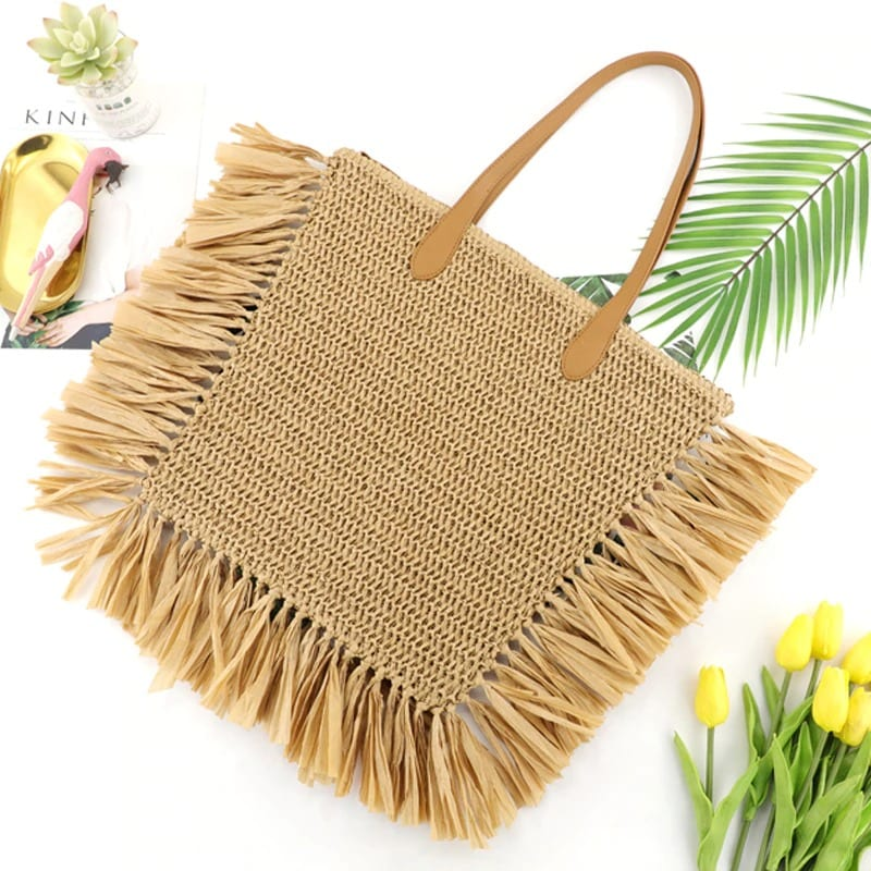Where best summer black straw bags