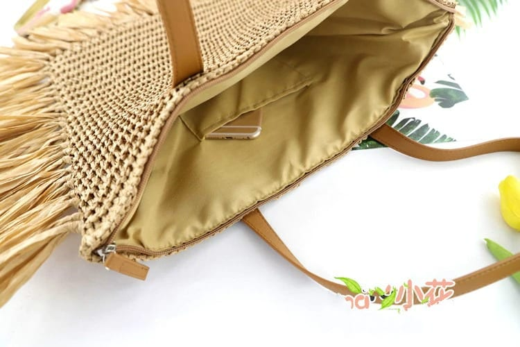 Small woven small straw bags 2021