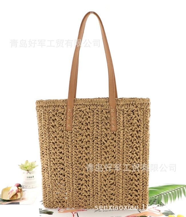 Where casual wicker beach bag 2021