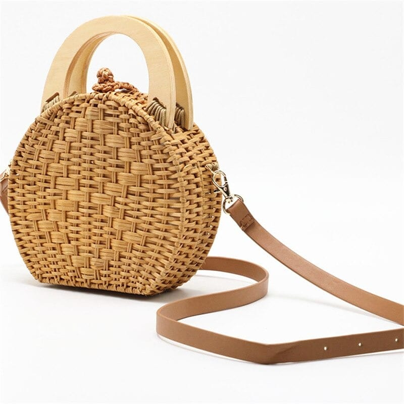 Which woven large straw beach bag quality