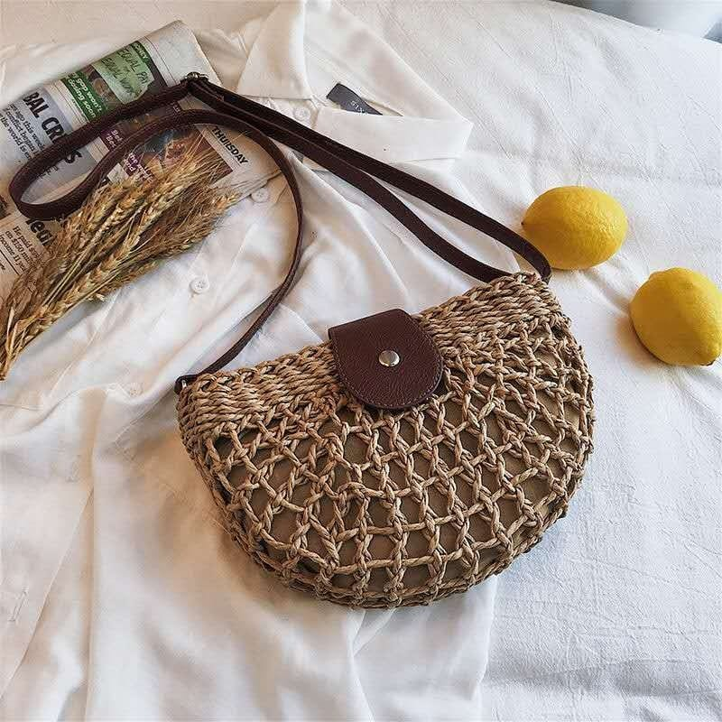Which lined wicker backpack quality