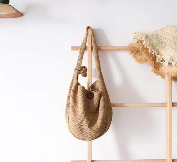 Wicker beach bags fashion quality