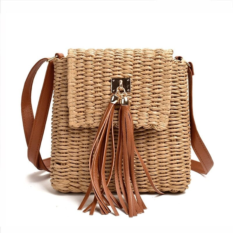 How solid woven leather tote good