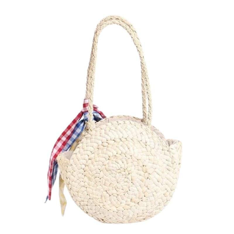 Beige straw hobo bags better