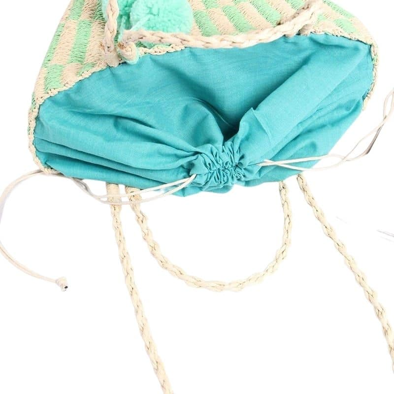 Best summer large straw beach bags quality
