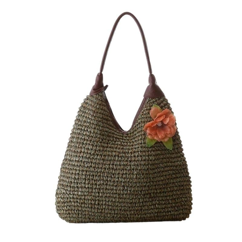 Where woven leather bags beach