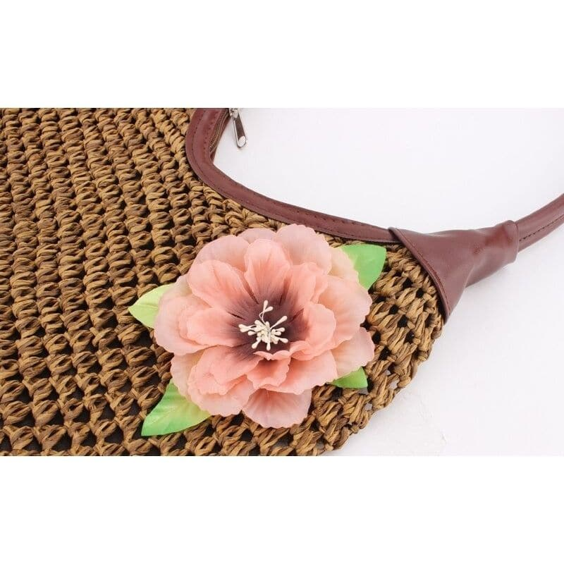 Which basket woven handbag value
