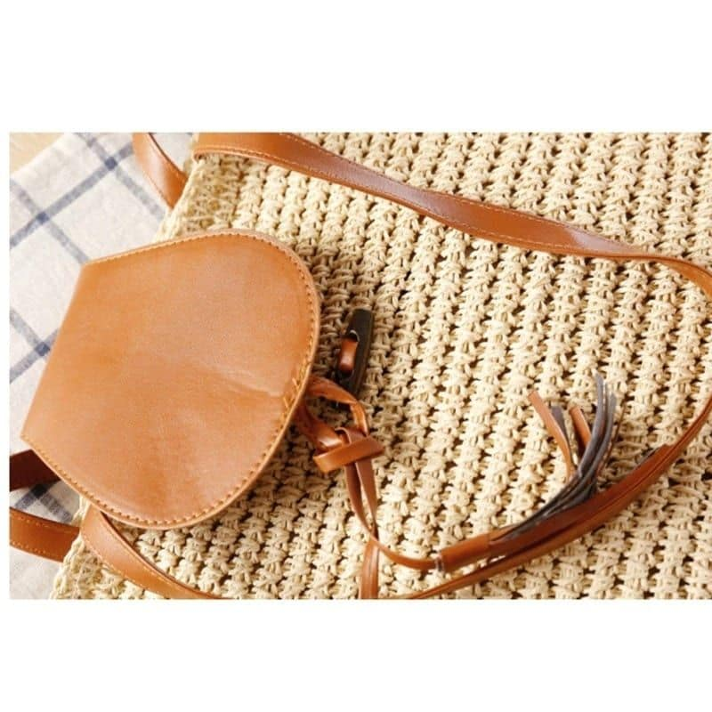 How rattan rattan crossbody bags